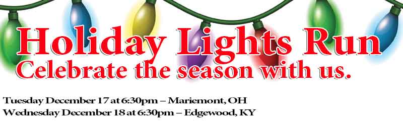Holiday Light Run – Edgewood